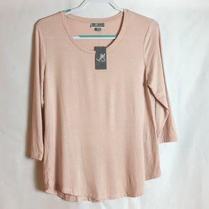 JM Collection pink shirt